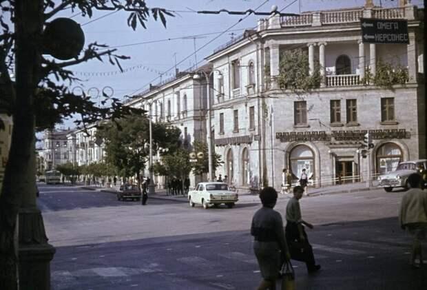 Севастополь, ул. Большая Морская, 70-е годы