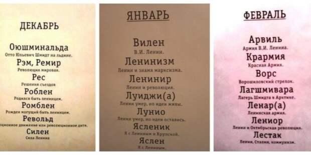 Самые странные имена, которые давали советским детям