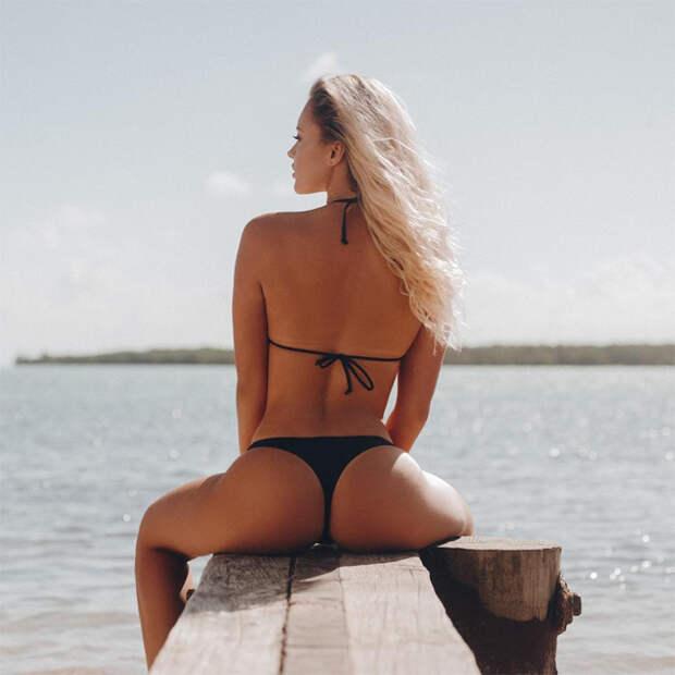 Юляна Рудзянкова: принцесса на пляже