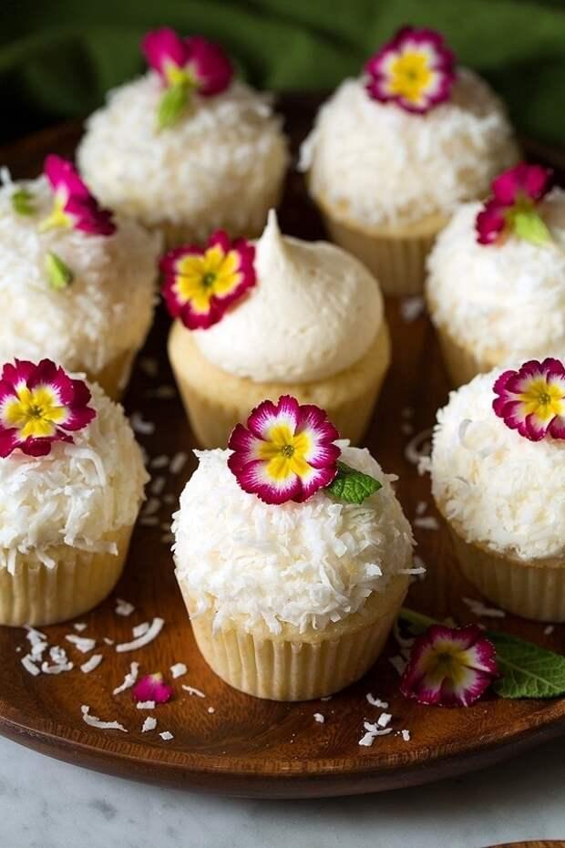 Райское наслаждение: кокосовые кексы