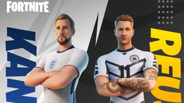 Футболисты Гарри Кейн и Марко Ройс появятся в Fortnite