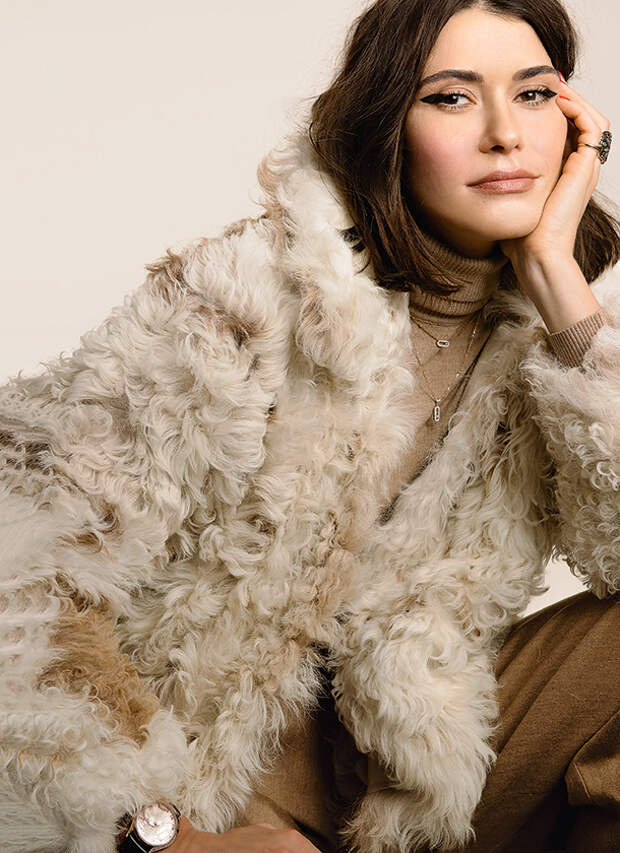 Как носить мех этой зимой: мастер-класс от Дарьи Яструбицкой