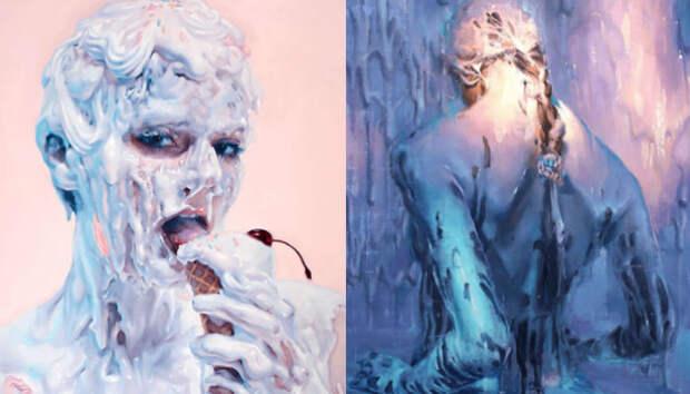 «Не молоко»: соблазнительные картины от Ивана Алифана