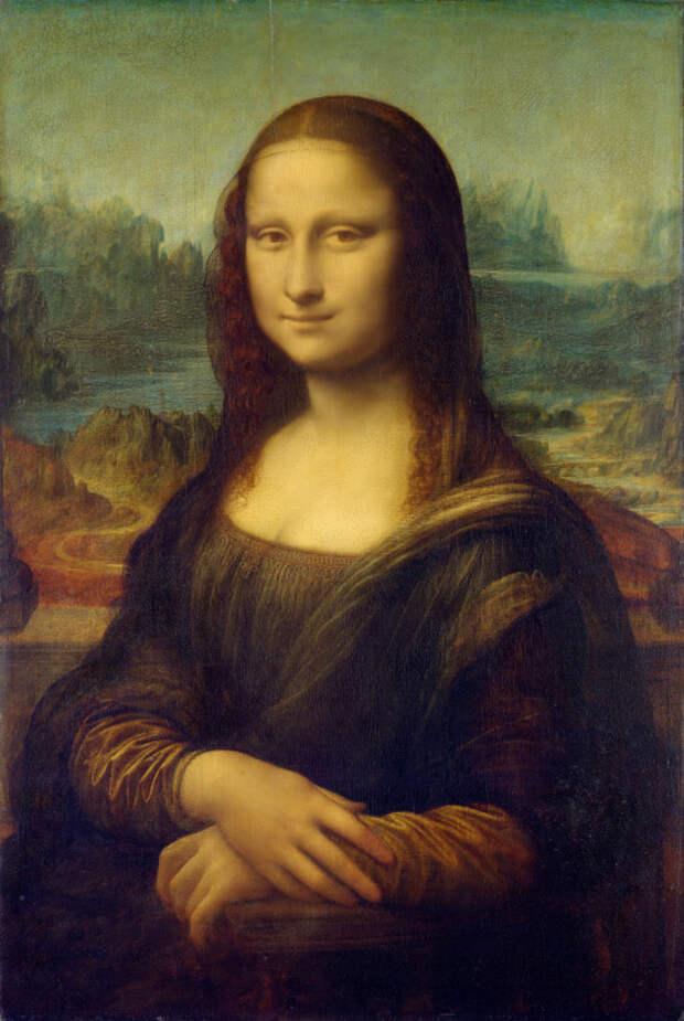 Мона Лиза, Леонардо да Винчи. / Фото: wikimedia.org.