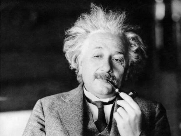 Выдающийся физик, который создал теорию относительности.