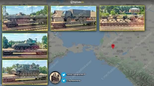 Россия начала переброску в Крым бронетехники, тяжёлой артиллерии и дополнительных средств ПВО