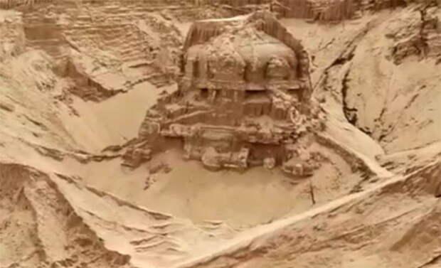 В Индии нашелся пропавший 80 лет назад храм Шивы