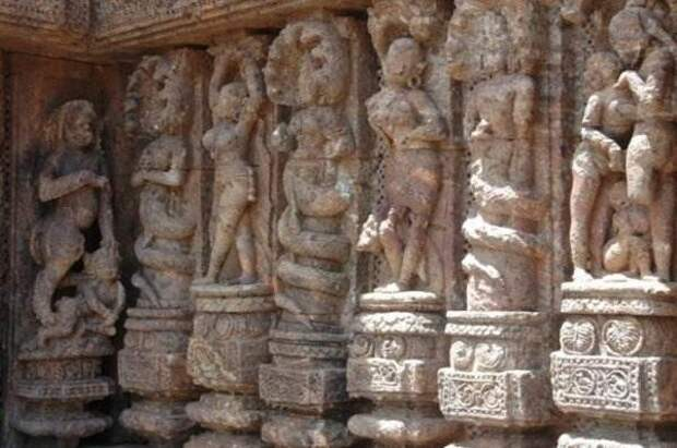 Храм Солнца. Индия