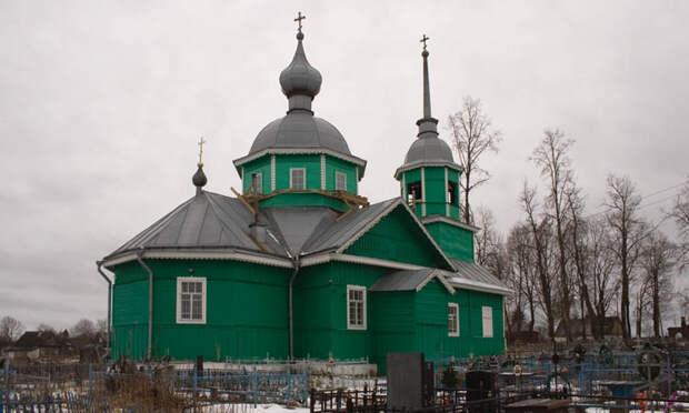 1925 - Церковь Флора и Лавра - Хредино - Струго-Красненский район - Псковская область