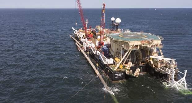 Сварка последней трубы «Северного потока-2» завершена в Балтийском море