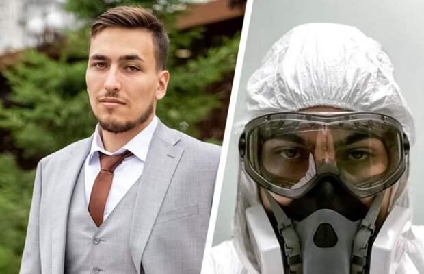 Анестезиолог-реаниматолог Алексей Гобеев/ пресс-служба ГКБ №52