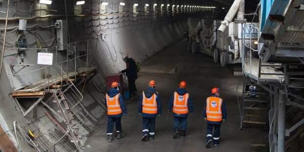 Андрей Бочкарев: На станции «Терехово» БКЛ метро завершаются