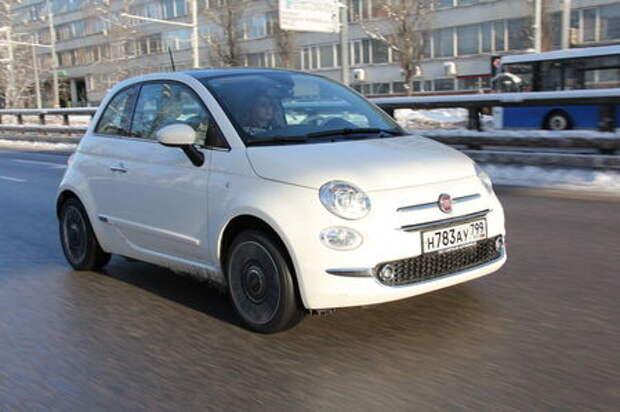 Fiat 500: тест на чужбине