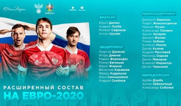 Памятка Legalbet: что надо знать о сборной России перед Евро-2020 (2021)
