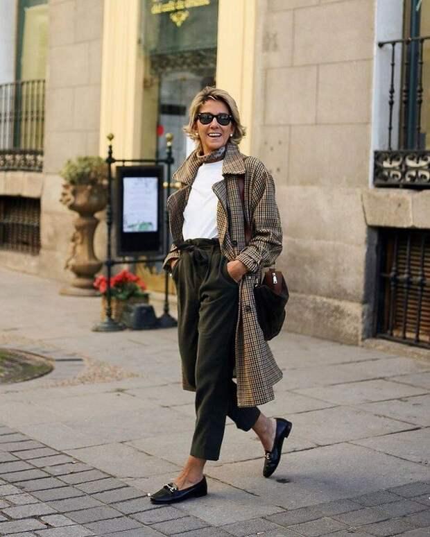 5 правил стиля кэжуал для женщин 50+