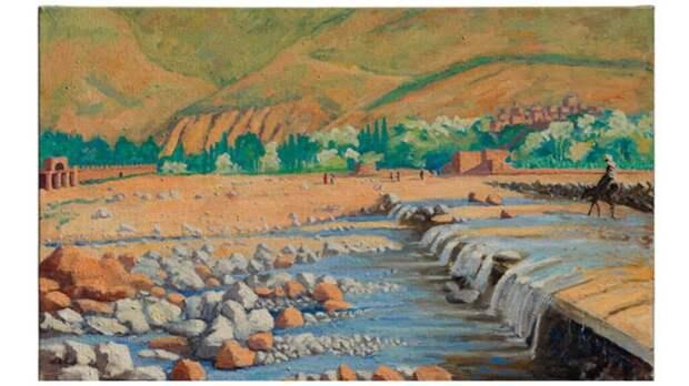 Картина Уинстона Черчилля была продана на аукционе за 2,6 миллиона долларов