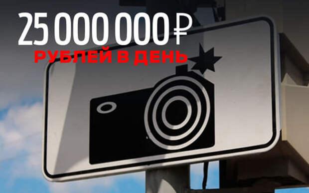 Миллионы будут получать коммерсанты на штрафах в Московской области