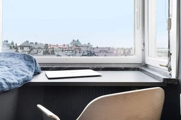 Рабочее место у окна