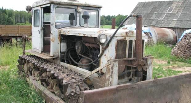 Каким был один из лучших тракторов Харьковского завода, Т-74