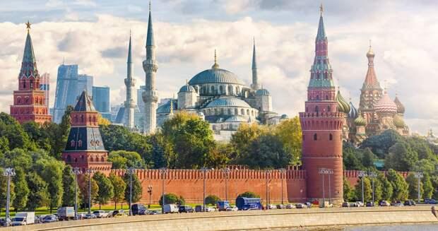 "Картинки по запросу ""Москва + Стамбул = Москванбул"""