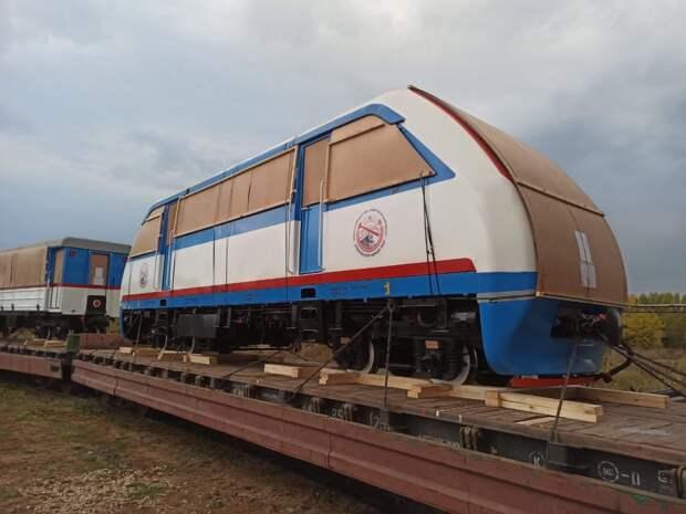 Удмуртия поставила вагоны в Монголию