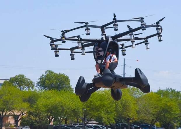Верхом на дроне. Пентагон тестирует летающее такси
