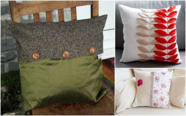 20 свежих идей, как обновить комнату с помощью подушек