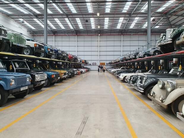 Место, где 440 уникальных машин собрано под одной крышей