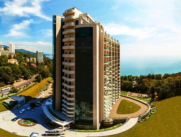 Самую большую квартиру в России продают в Сочи