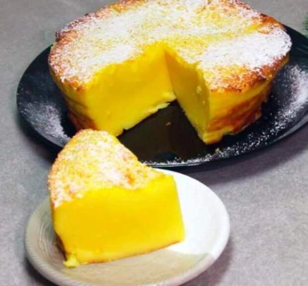 Этот нежный молочный пирог придумал гений. Готовлю его каждую неделю: всё очень просто, дёшево и вкусно