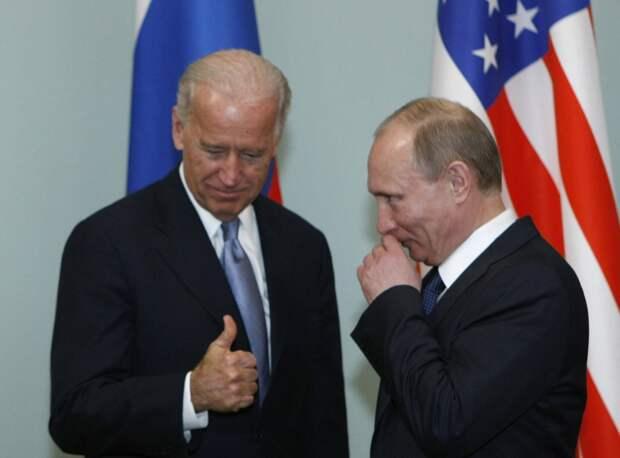 В США оказались недовольны «опасной слабостью» Байдена по отношении к Путину