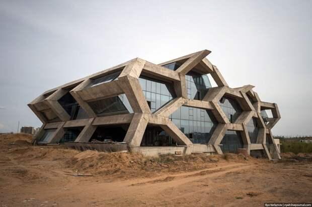 11 фото заброшенного китайского города Ордос, в котором никогда не жили