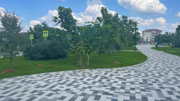 Сухой фонтан появится вобновленном сквере в204 квартале Ставрополя