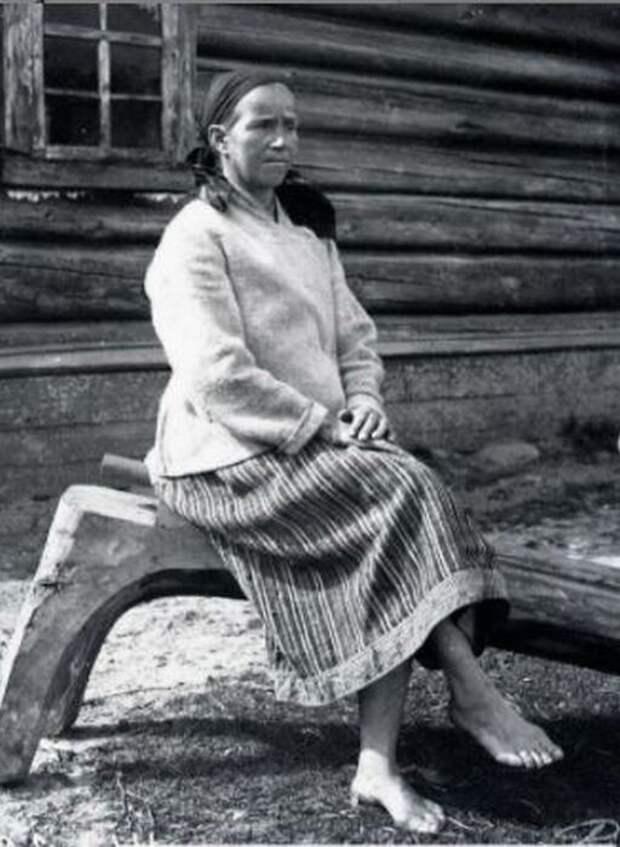 Крестьянка Дарья Киршенова, 35 лет.