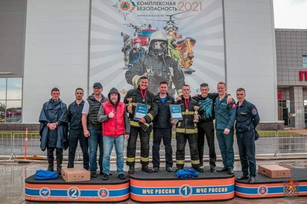 Команда Департамента ГОЧСиПБ покорила «Пожарный Олимп»