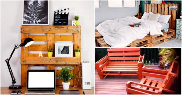 17 идей, которые помогут превратить невзрачные поддоны в красивые вещи для дома и сада
