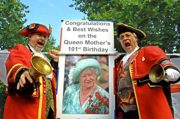 101-й день рождения Королевы-матери
