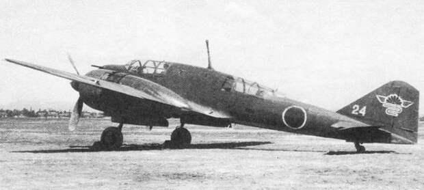Тяжелые двухмоторные японские истребители против американских бомбардировщиков