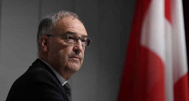 Президент Швейцарии прибыл на виллу Ла-Гранж