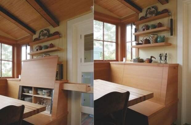 Идеи для хранения, которые сэкономят место по всей квартире