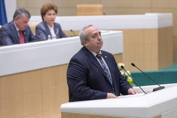 Сенатор Клинцевич допустил возможность развертывания тактического ядерного оружия в Крыму