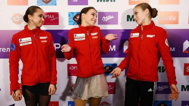 «Девчонки, вы просто космос». Валиева поздравила Щербакову, Туктамышеву и Трусову