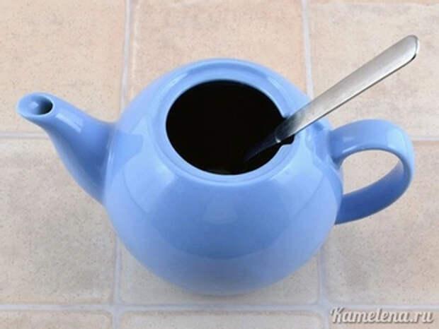 Когда чай немного настоится и