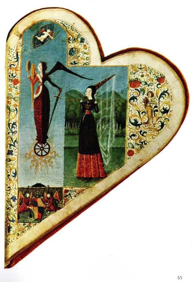 Как изображение сердечка стало символом любви
