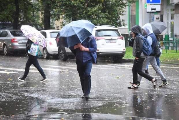 «Желтый» уровень погодной опасности объявлен в Москве и Подмосковье до вечера пятницы
