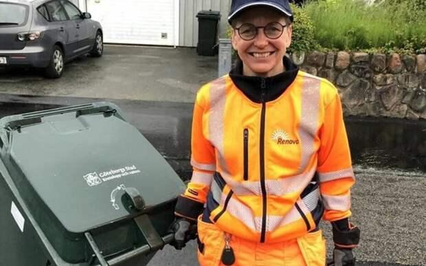 Бывший мэр Гётеборга устроилась водителем мусоровоза