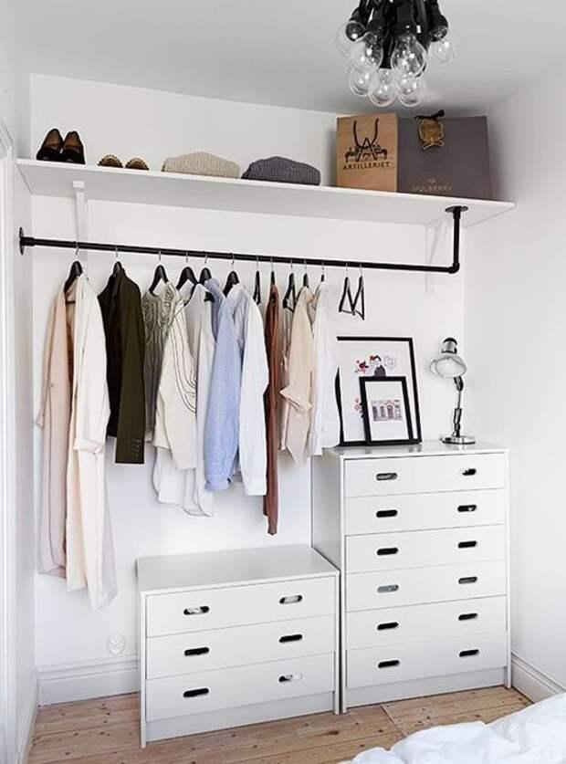 Вместо шкафа