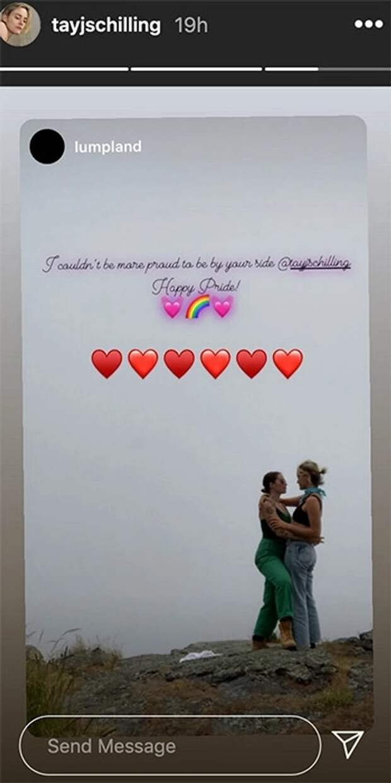 Актриса Тейлор Шиллинг совершила каминг-аут вInstagram ипоказала свою возлюбленную