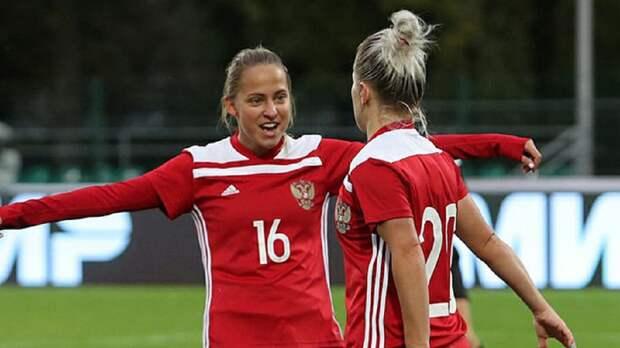Женская сборная России разгромила Черногорию в квалификации ЧМ-2023