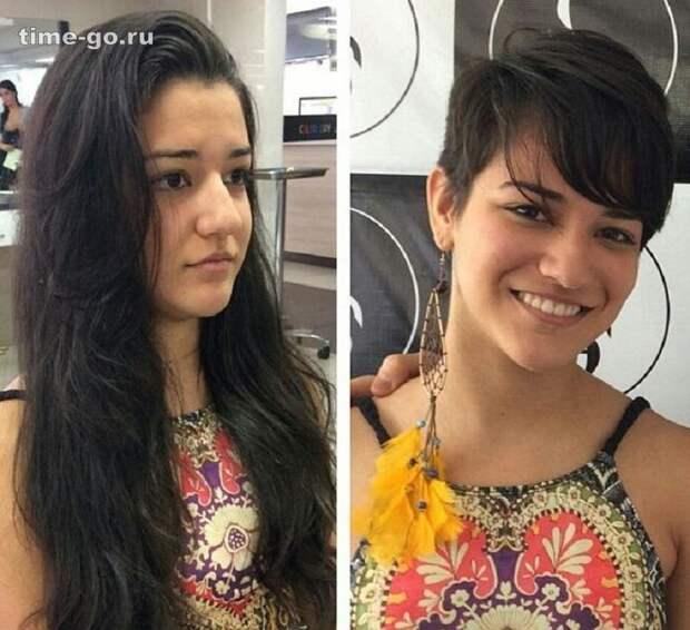 20 фото девушек, которые изменили прическу.